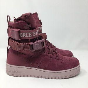 Nike Women's SF Air Force 1 Force is Female 8